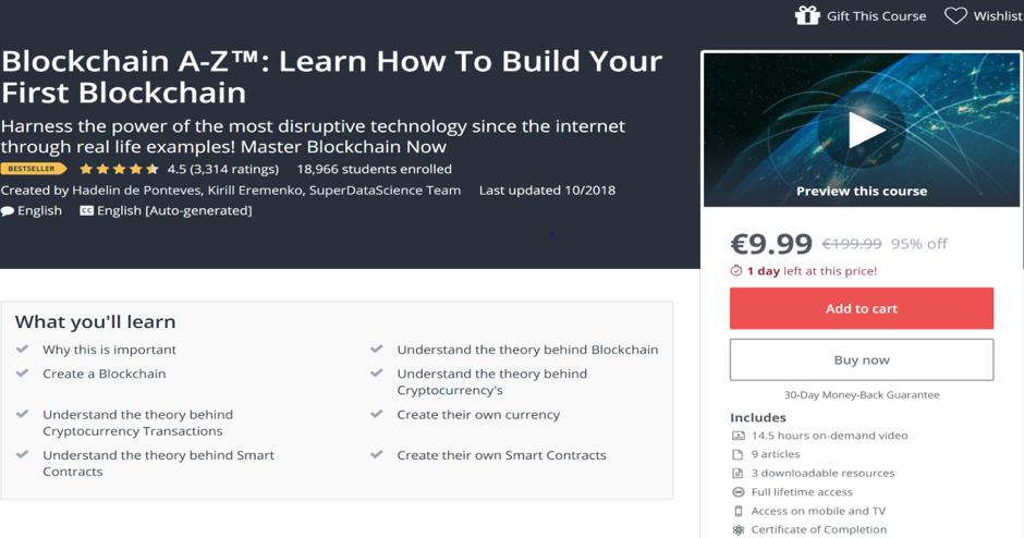 Blockchain A-Z