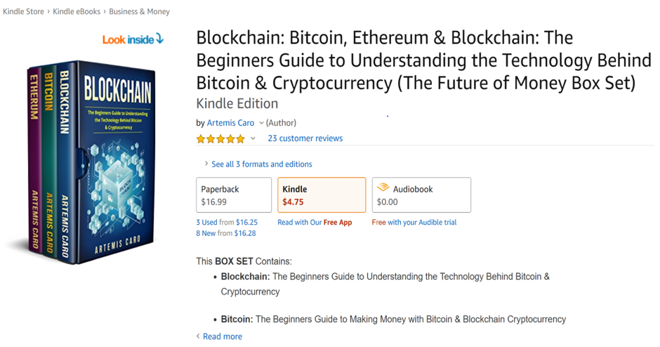 Blockchain & Bitcoin eBook