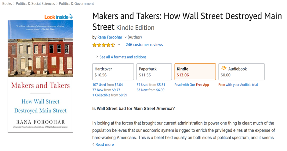 Makers And Takers eBook